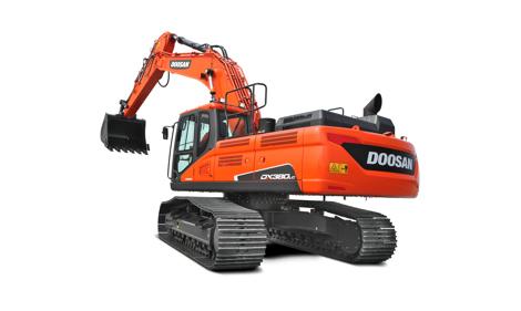 Doosan crawler excavators - Staad groep