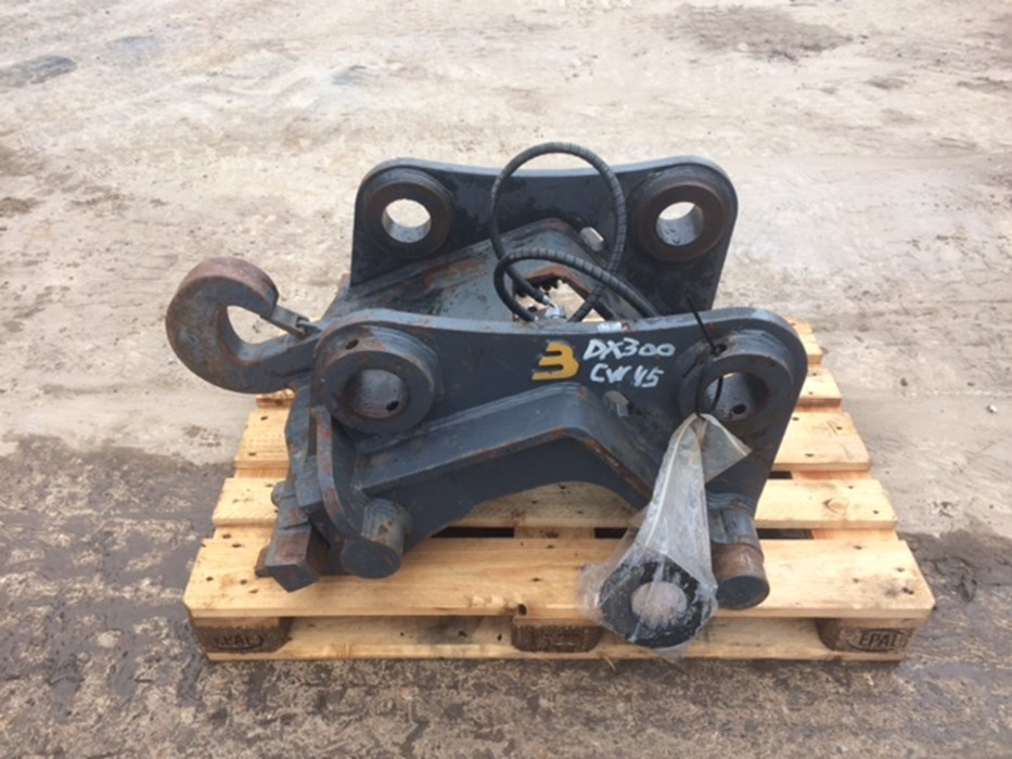 Beco Hydraulis quick coupler CW45 for Doosan DX300LC